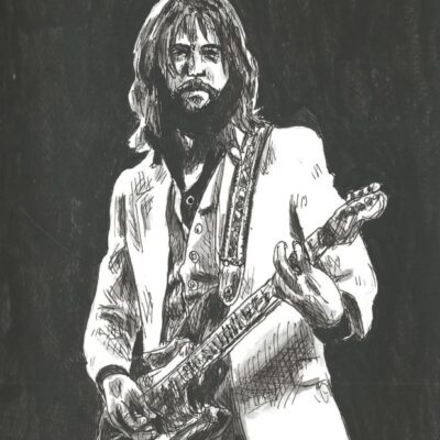 Eric Clapton drawing