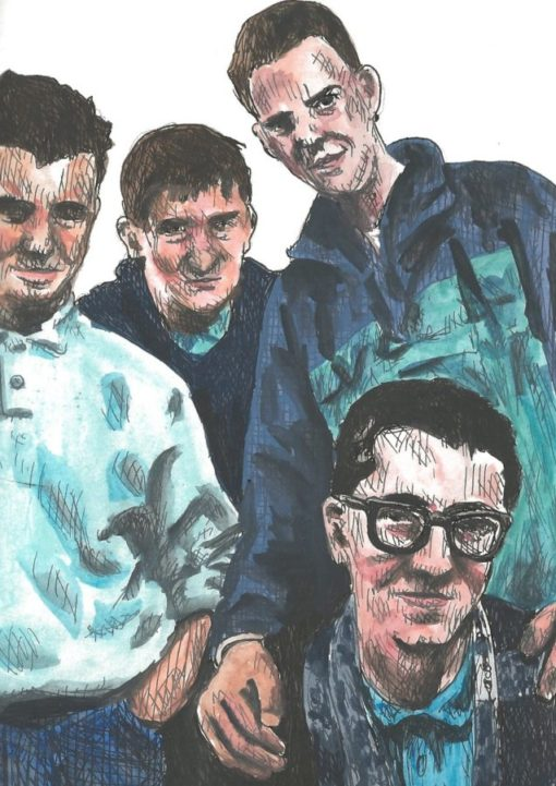 The Housemartins drawings