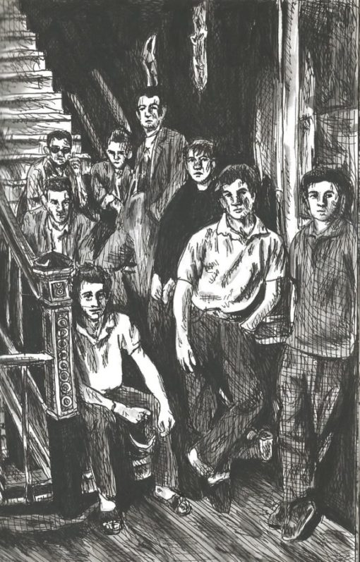 The Pogues drawing