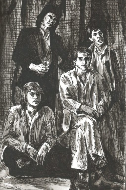 Dire Straits drawing