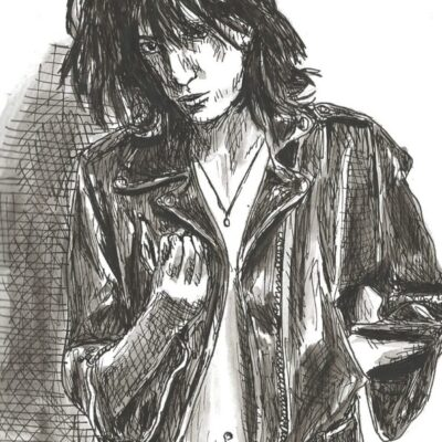 Patti Smith drawing