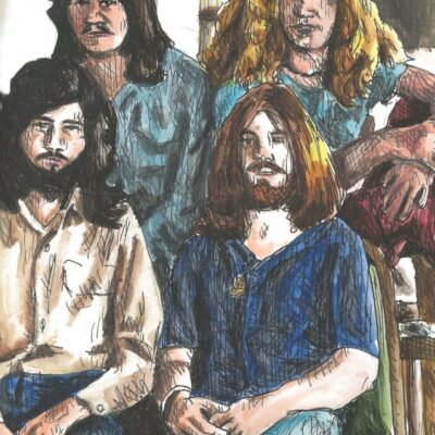 Led Zeppelin drawing