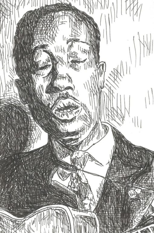 Big Bill Broonzy drawing