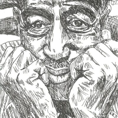 Son House drawing