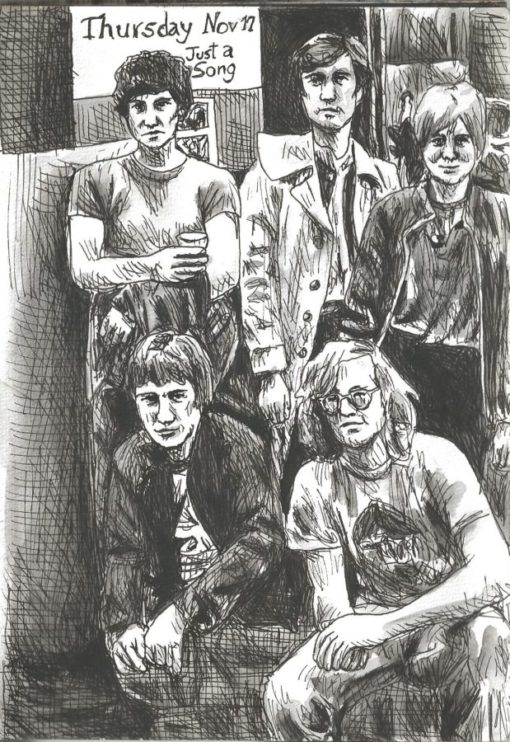 Talking Heads drawing