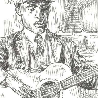 Blind Willie McTell drawings