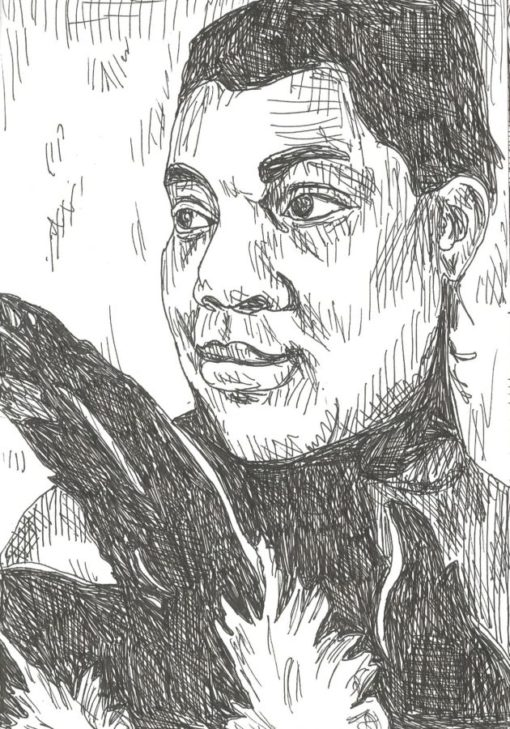 Bessie Smith drawing