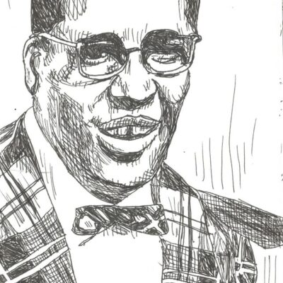 Bo Diddley drawing