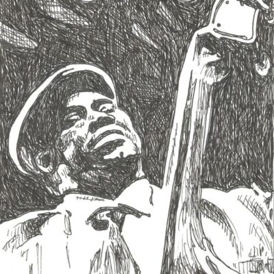 Willie Dixon drawing
