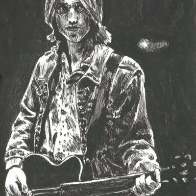 Tom Petty drawing