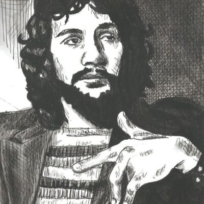 Cat Stevens drawing