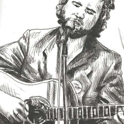 John Martyn drawing