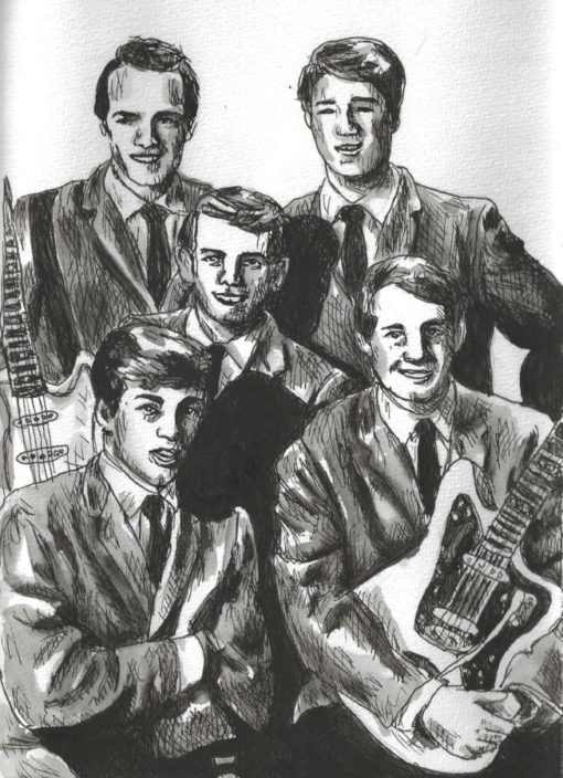 The Beach Boys drawing