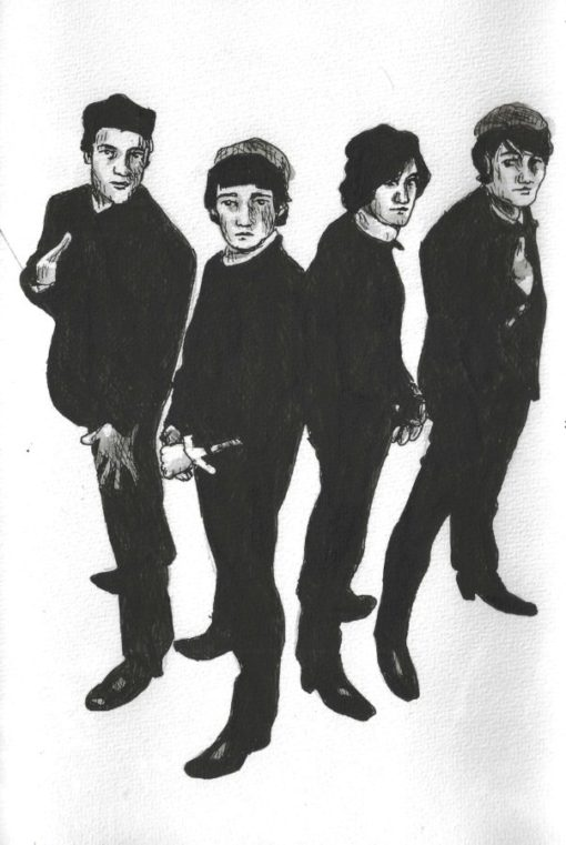 The Kinks drawings