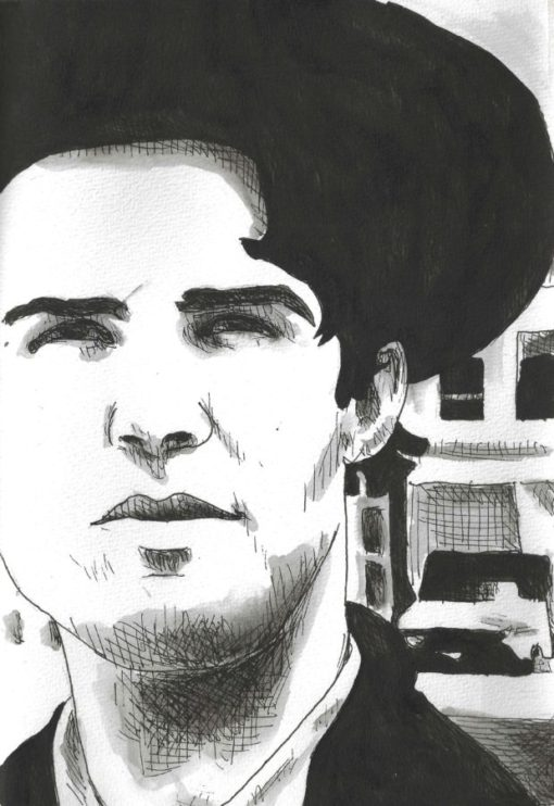 Lloyd Cole drawing