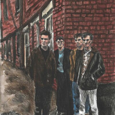 The Smiths drawing