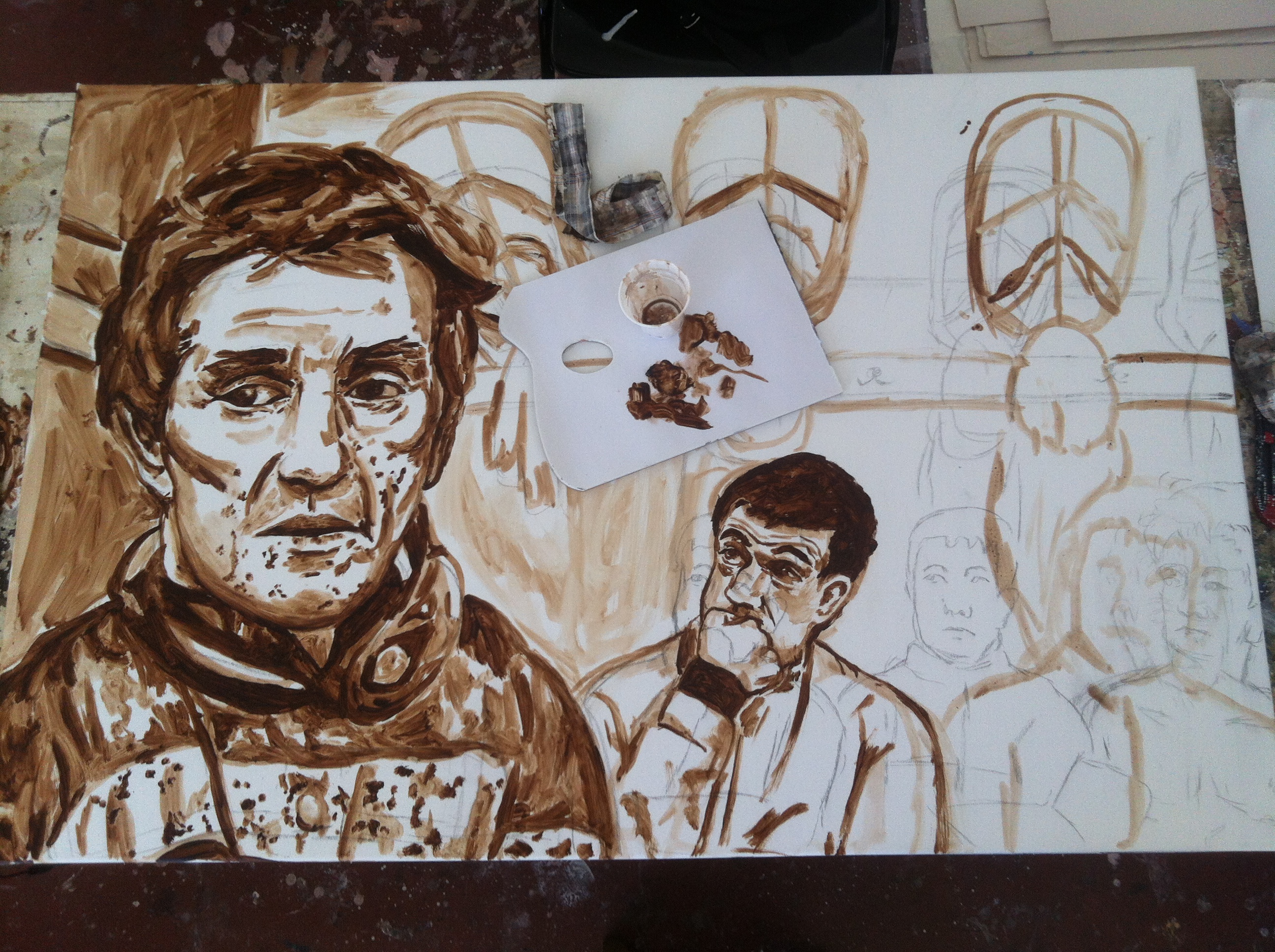 ap mccoy underpainting