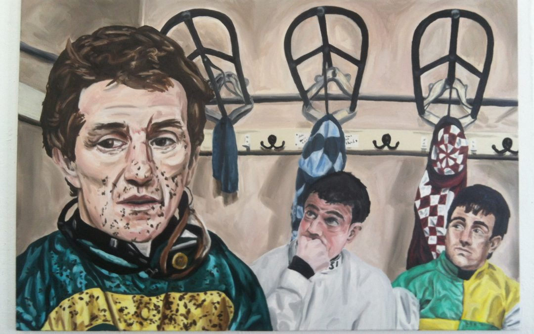 "A.P. McCoy Painting ""After the Race"""