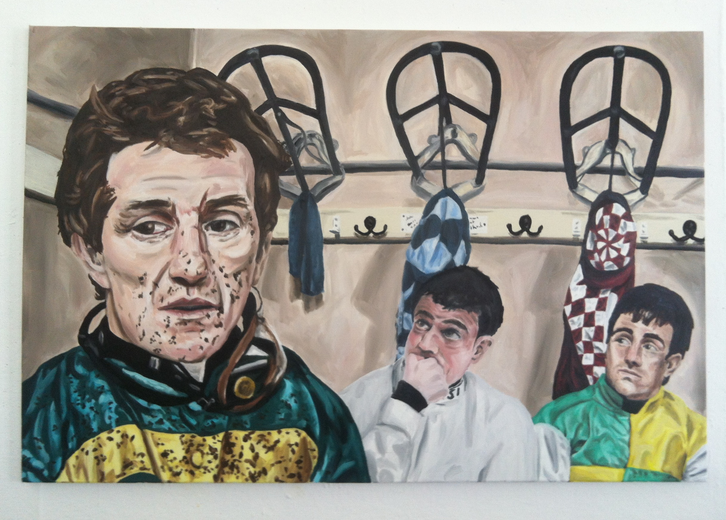 oil painting portrait ap mccoy