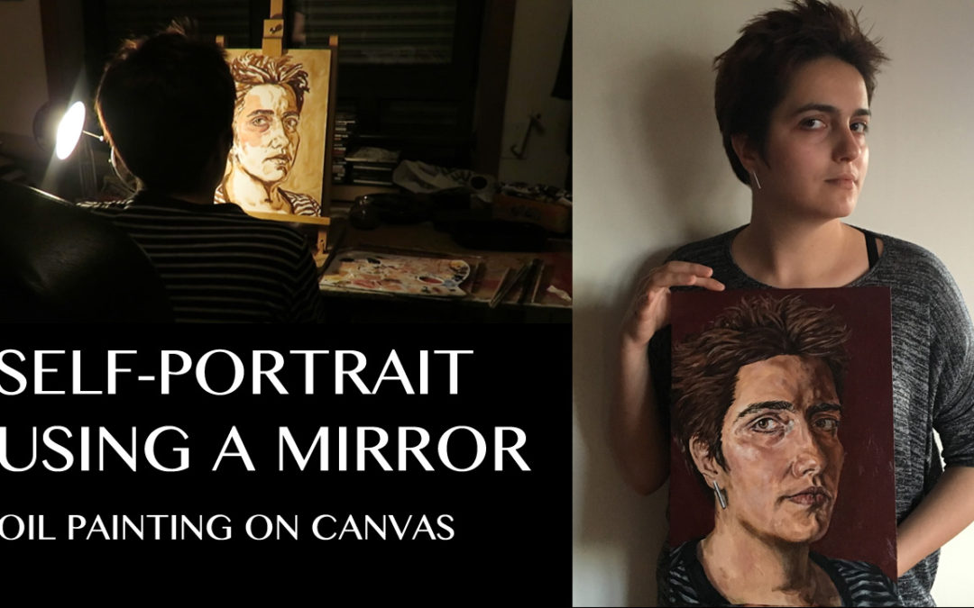 Self Portrait – Painting Process Video